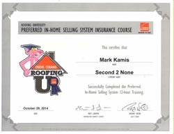 Owens Corning Roofing University